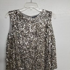 Sparkley sequinned top